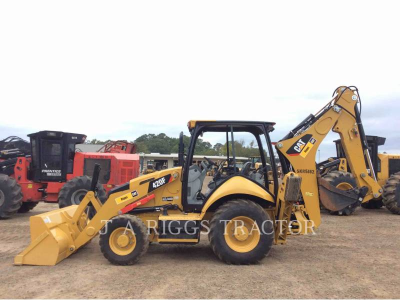 CATERPILLAR CHARGEUSES-PELLETEUSES 420F 4H equipment  photo 3