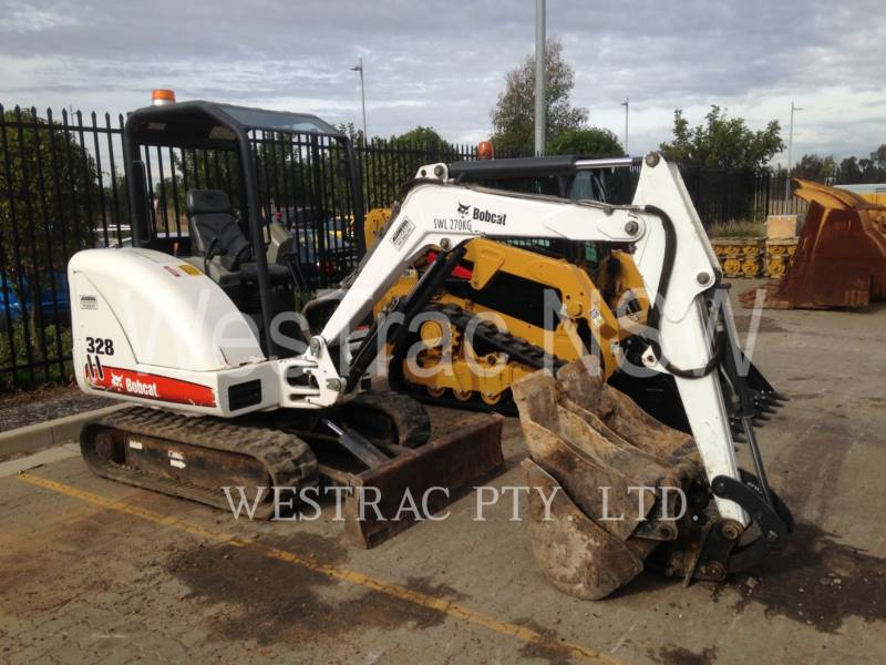 BOBCAT EXCAVATOARE PE ŞENILE 328 equipment  photo 2