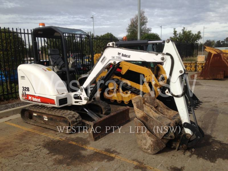 BOBCAT PELLES SUR CHAINES 328 equipment  photo 2