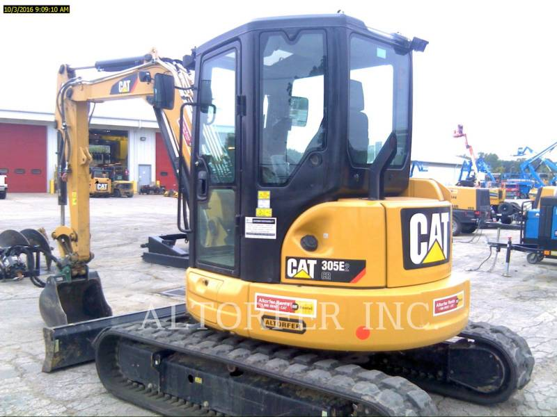 CATERPILLAR KETTEN-HYDRAULIKBAGGER 305E2 CR- equipment  photo 1