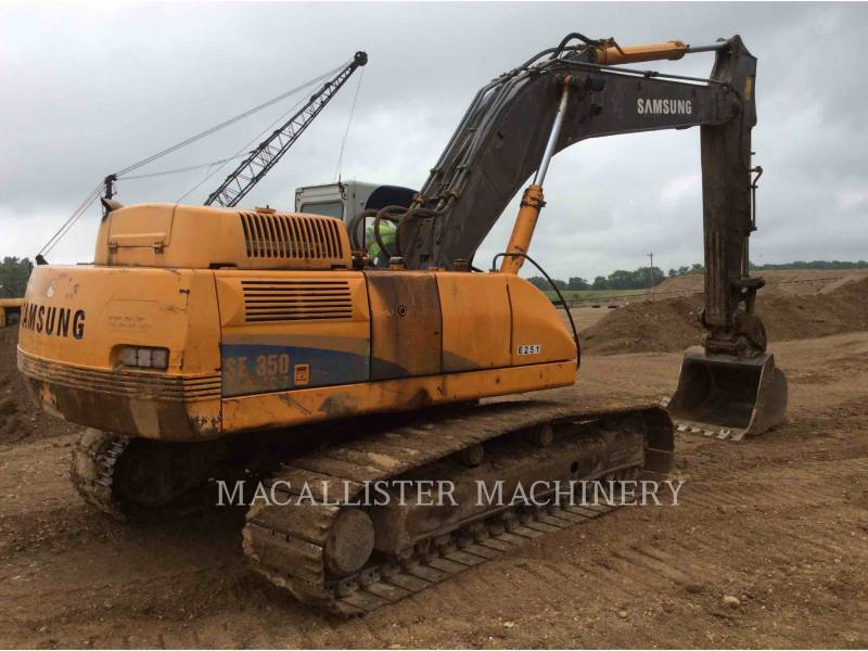 SAMSUNG TRACK EXCAVATORS 350 equipment  photo 3