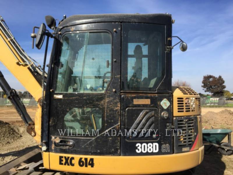 CATERPILLAR TRACK EXCAVATORS 308D CR equipment  photo 1
