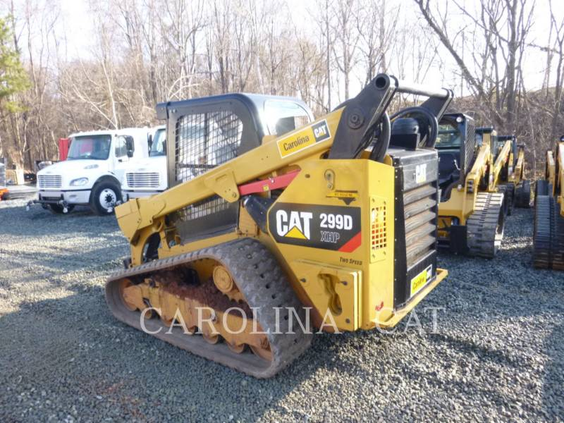 CATERPILLAR PALE CINGOLATE 299DXHP equipment  photo 4