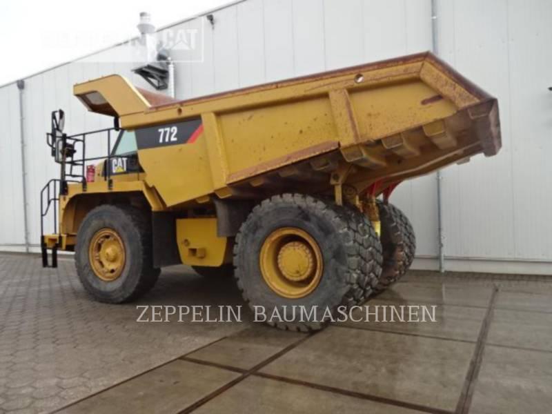 CATERPILLAR OFF HIGHWAY TRUCKS 772 equipment  photo 2