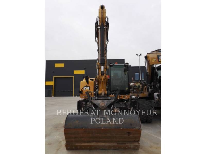 CATERPILLAR PELLES SUR PNEUS M314 F equipment  photo 2