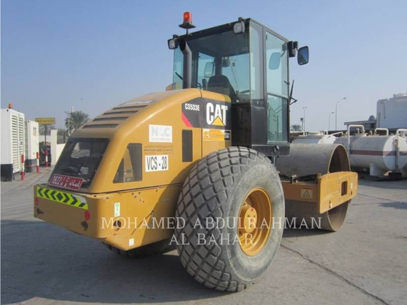 CATERPILLAR EINZELVIBRATIONSWALZE, GLATTBANDAGE CS 533 E equipment  photo 5