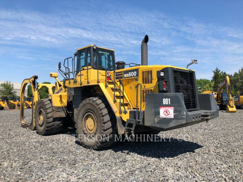 KOMATSU LTD. WHEEL LOADERS/INTEGRATED TOOLCARRIERS WA600-6 equipment  photo 4