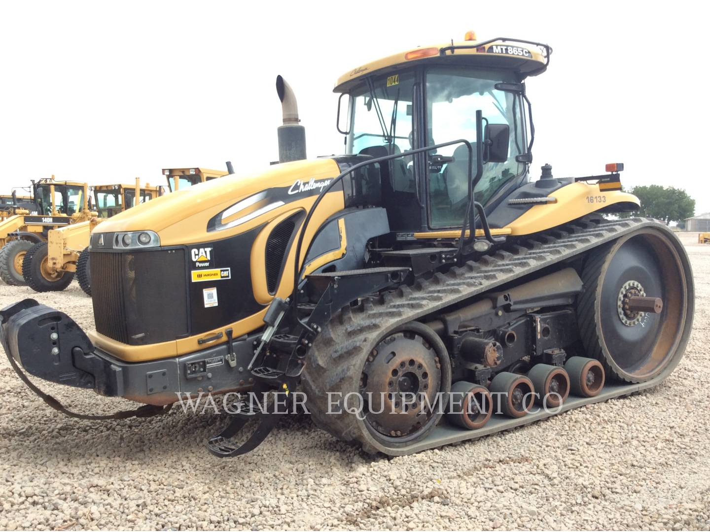 Detail photo of 2011 AGCO MT865C from Construction Equipment Guide