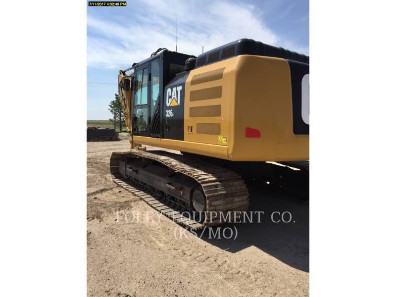 CATERPILLAR TRACK EXCAVATORS 326FL9 equipment  photo 3