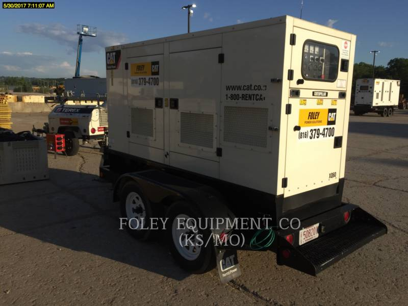 OLYMPIAN CAT PORTABLE GENERATOR SETS XQ60 equipment  photo 1