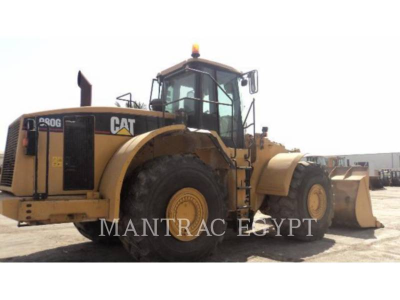 CATERPILLAR CARGADORES DE RUEDAS 980GII equipment  photo 2