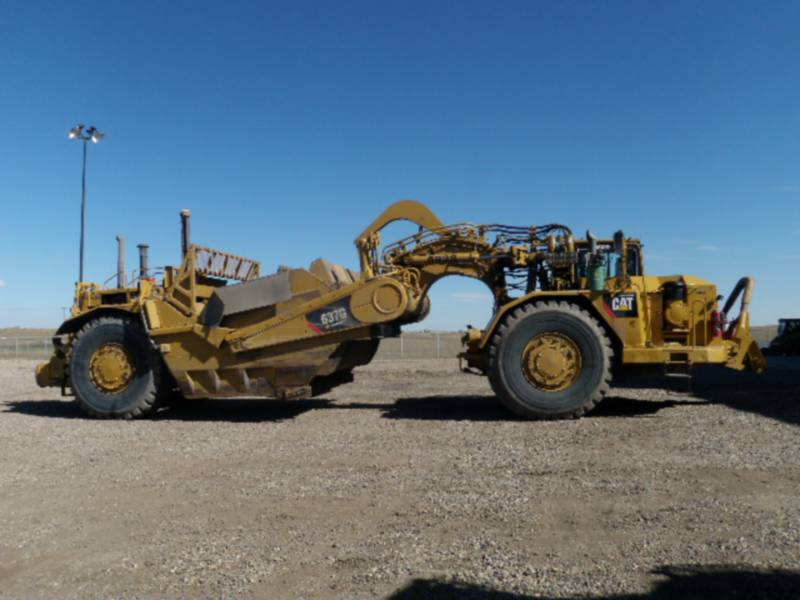CATERPILLAR WHEEL TRACTOR SCRAPERS 637G equipment  photo 4