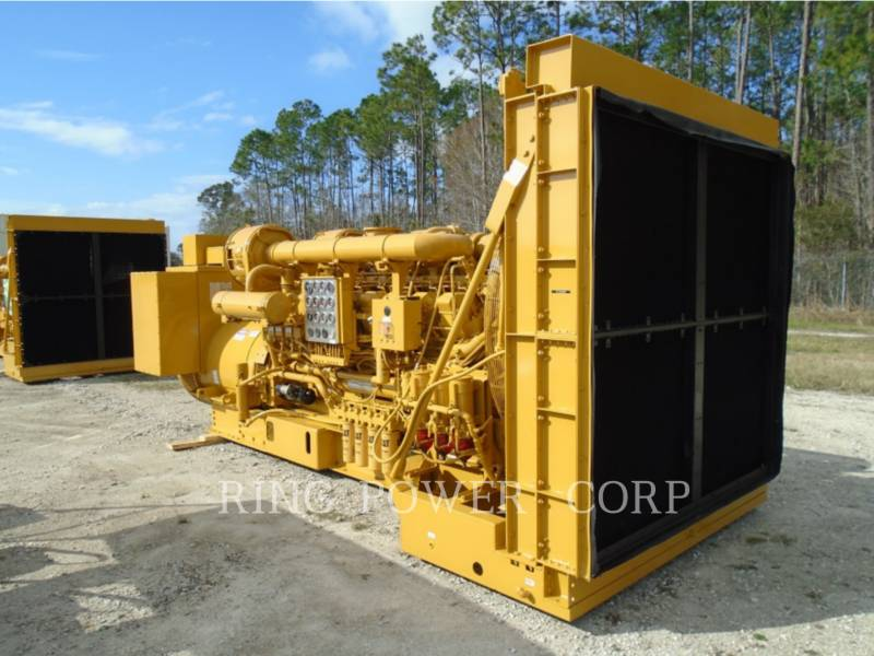 CATERPILLAR 固定式発電装置 1750 KW equipment  photo 5