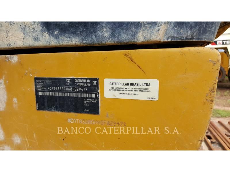 CATERPILLAR KOPARKI GĄSIENICOWE 320DL equipment  photo 5