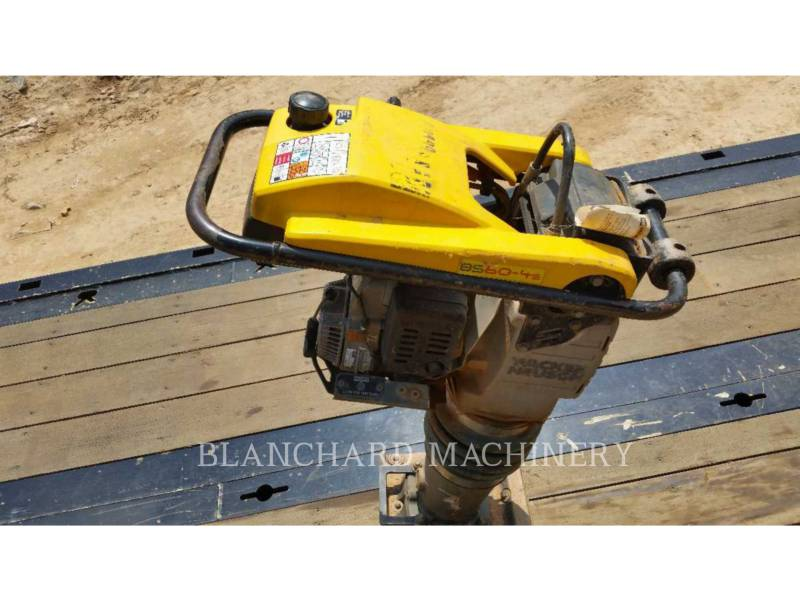 WACKER CORPORATION  VIBRATORY PLATE COMPACTOR TAMPJJBS60 equipment  photo 2