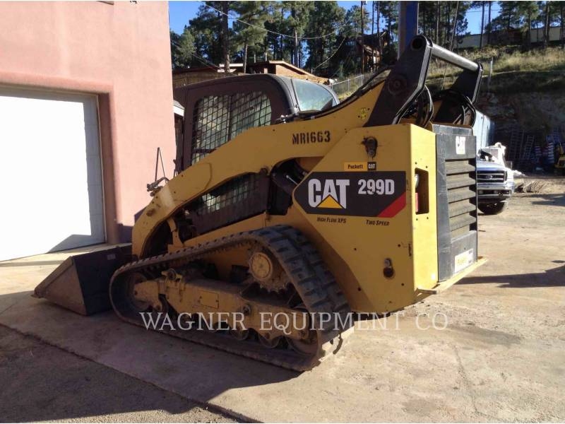 CATERPILLAR PALE CINGOLATE MULTI TERRAIN 299D equipment  photo 3