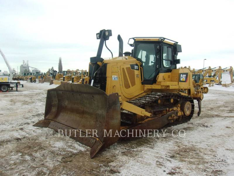 CATERPILLAR TRACK TYPE TRACTORS D7E equipment  photo 1