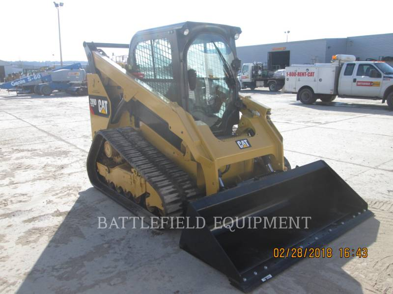 CATERPILLAR UNIWERSALNE ŁADOWARKI 289DLRC equipment  photo 1