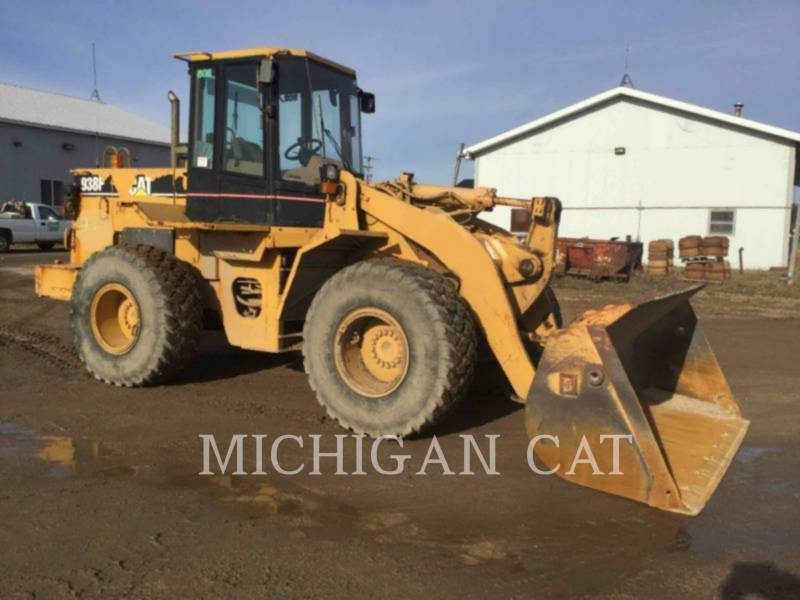 CATERPILLAR PALE GOMMATE/PALE GOMMATE MULTIUSO 938F equipment  photo 1