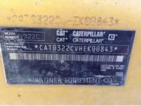 CATERPILLAR TRACK EXCAVATORS 322CL equipment  photo 8