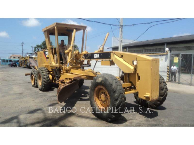 CATERPILLAR MOTONIVELADORAS 120K equipment  photo 1