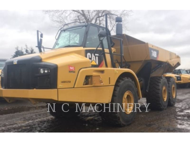 Caterpillar CAMIOANE ARTICULATE 740B equipment  photo 2