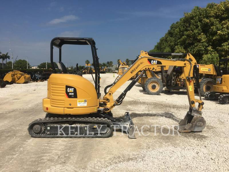 CATERPILLAR KETTEN-HYDRAULIKBAGGER 303ECR equipment  photo 2