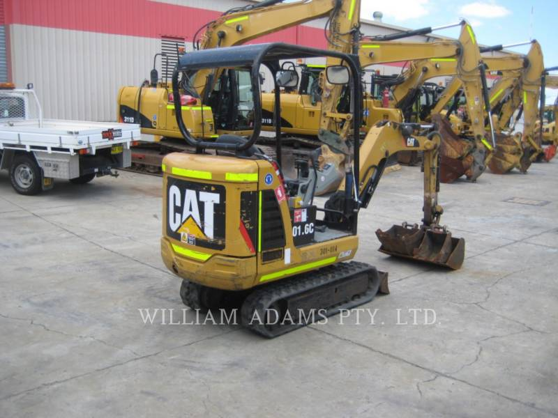 CATERPILLAR TRACK EXCAVATORS 301.6C equipment  photo 3