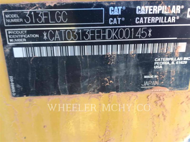 CATERPILLAR PELLES SUR CHAINES 313F GC CF equipment  photo 6