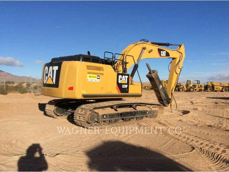 CATERPILLAR EXCAVADORAS DE CADENAS 329FL HCIR equipment  photo 2