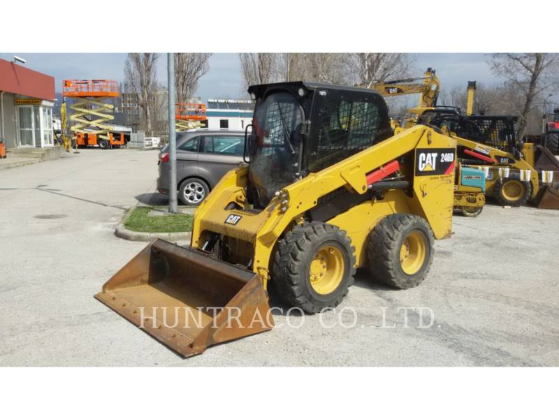 CATERPILLAR SKID STEER LOADERS 246 D equipment  photo 1