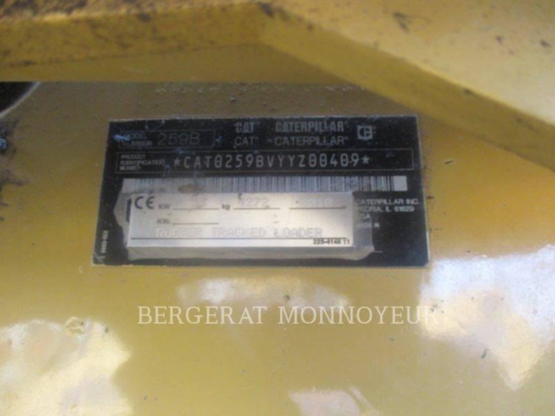 CATERPILLAR CARGADORES MULTITERRENO 259B3 equipment  photo 9