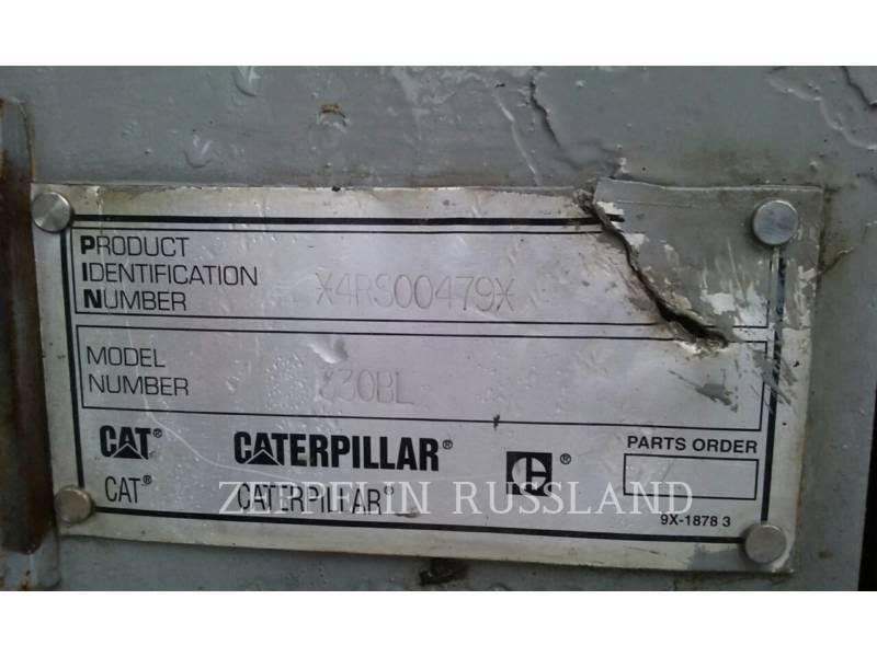 CATERPILLAR ГУСЕНИЧНЫЙ ЭКСКАВАТОР 330BL equipment  photo 5