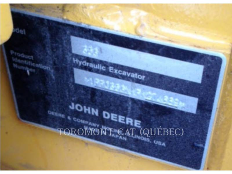 JOHN DEERE EXCAVADORAS DE CADENAS 35G equipment  photo 24