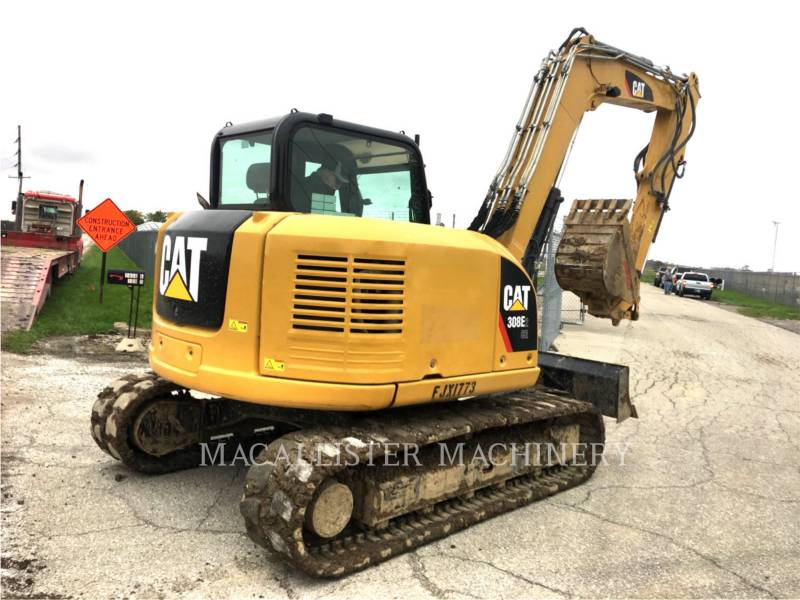 CATERPILLAR TRACK EXCAVATORS 308E2CRSB equipment  photo 4