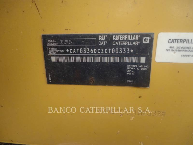 CATERPILLAR ESCAVATORI CINGOLATI 336D2L equipment  photo 5
