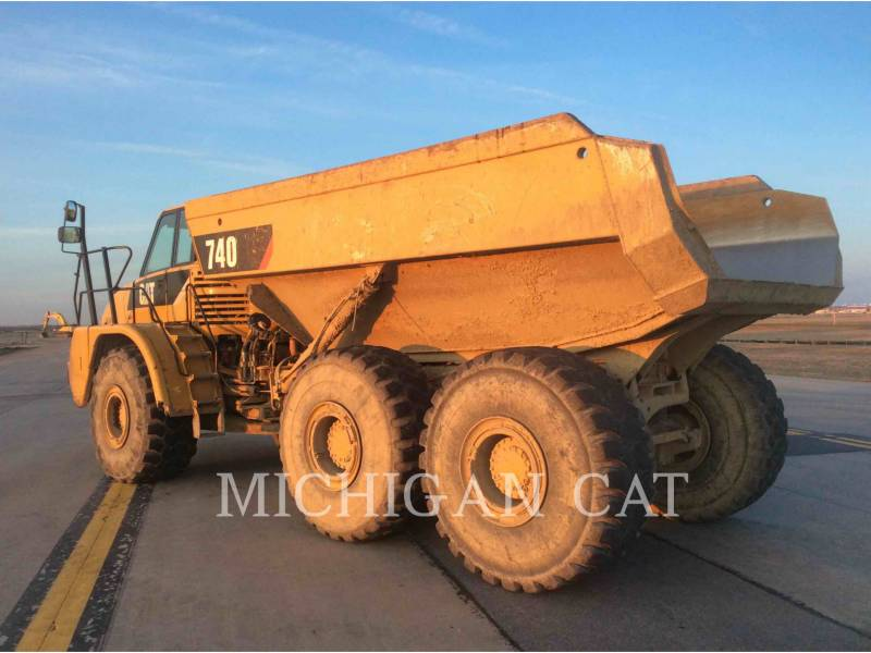 CATERPILLAR TOMBEREAUX ARTICULÉS 740 T equipment  photo 4