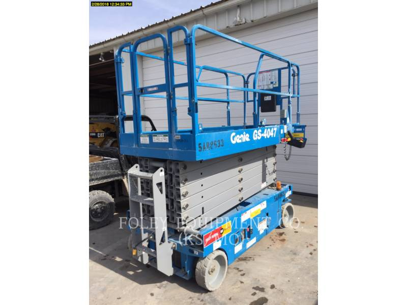 GENIE INDUSTRIES LIFT - SCISSOR GS4047 equipment  photo 1