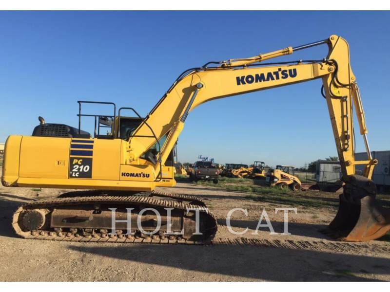 KOMATSU EXCAVADORAS DE CADENAS PC210LC-10 equipment  photo 2