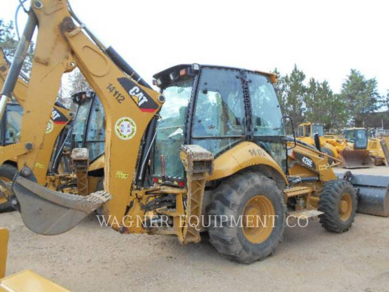 CATERPILLAR BAGGERLADER 420E 4WD equipment  photo 3