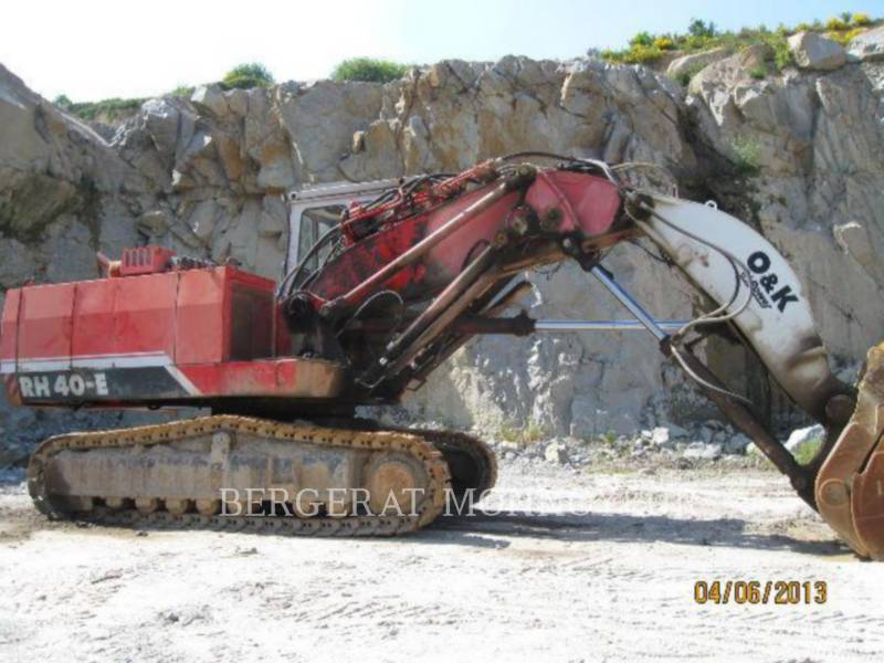 O&K PALA PARA MINERÍA / EXCAVADORA RH40 equipment  photo 9