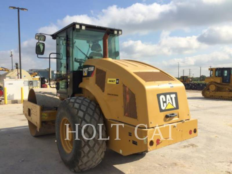 Caterpillar TAMBUR SIMPLU VIBRATOR PENTRU ASFALT CS56B CAB equipment  photo 3
