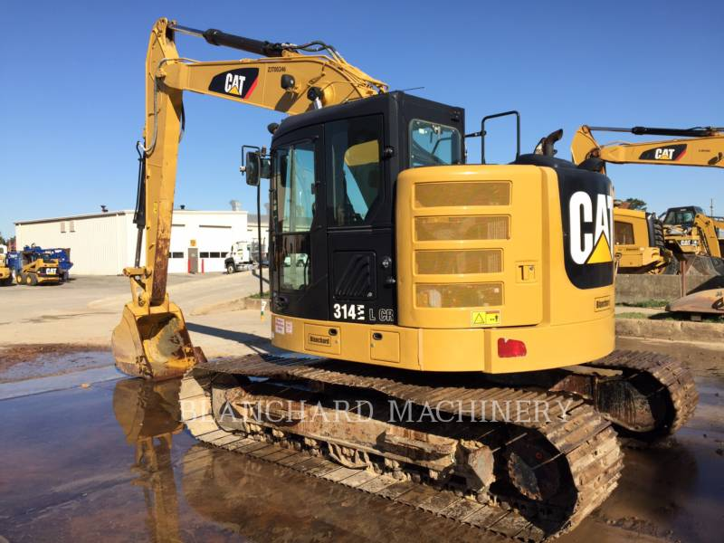 CATERPILLAR TRACK EXCAVATORS 314ELCR equipment  photo 1