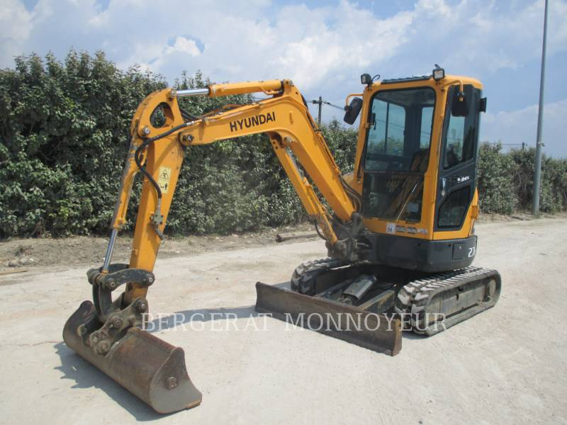 HYUNDAI TRACK EXCAVATORS R27Z.9 equipment  photo 9