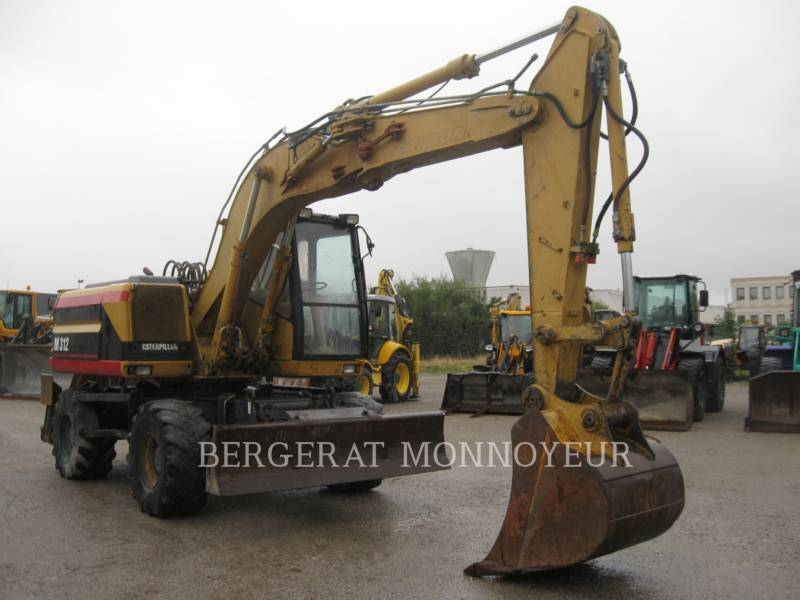 CATERPILLAR WHEEL EXCAVATORS M312 equipment  photo 1