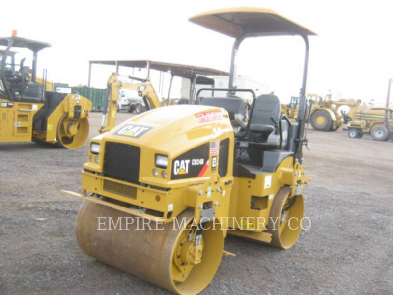 CATERPILLAR ROLO COMPACTADOR DE ASFALTO DUPLO TANDEM CB24B equipment  photo 4