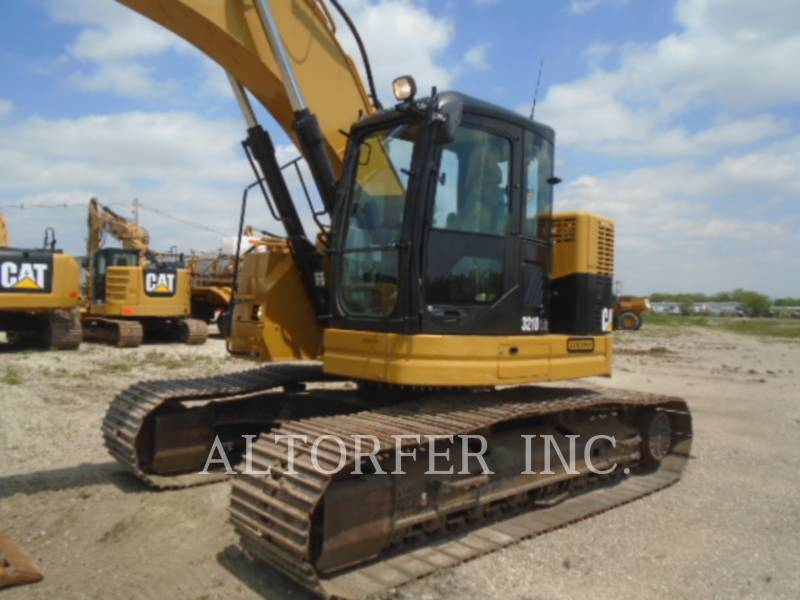 CATERPILLAR TRACK EXCAVATORS 321DL CR equipment  photo 2