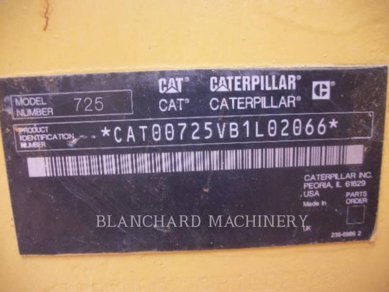 CATERPILLAR CAMIONES DE AGUA 725 WT equipment  photo 18