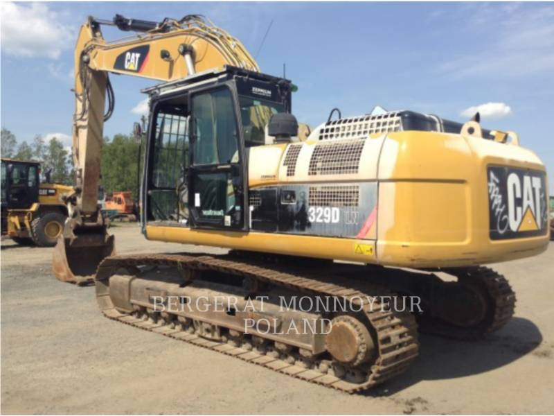 CATERPILLAR KOPARKI GĄSIENICOWE 329DLN equipment  photo 3