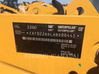 CATERPILLAR PALE COMPATTE SKID STEER 226D equipment  photo 7